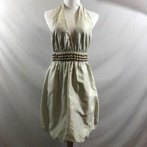 Stella McCartney grey bubble halter dress